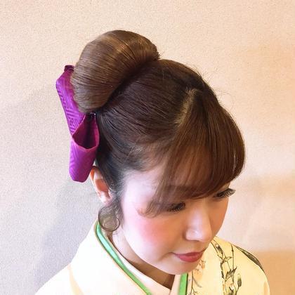 ヘアセット、和髪も得意です。 ARURU HAIR fan所属・中野有亜のスタイル