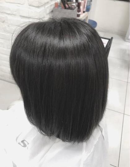 🦍白髪染め+トリートメント🦍