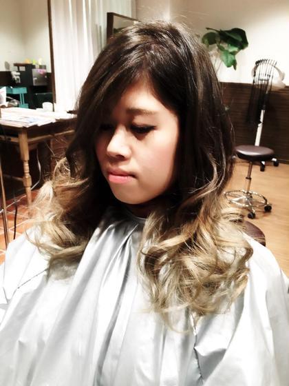 外国人風グラデーション アッシュグレイ〜パールグレージュ Agu hair RIDE所属・Agu hairRIDEのスタイル