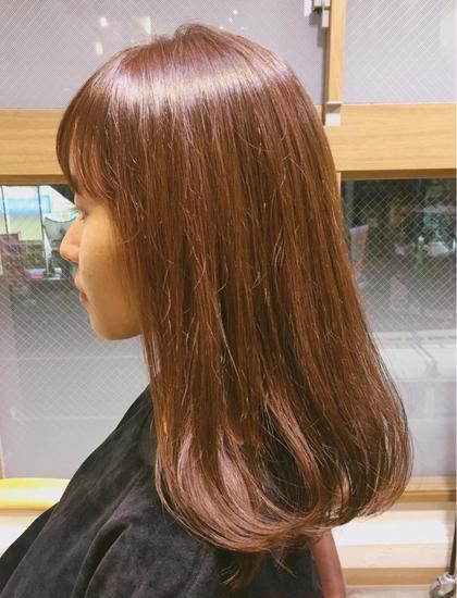 pink brown ✳︎ hair salon LOERUN所属・笠原めぐみのスタイル