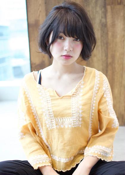ゆるふわショートボブ✨ AFLOAT JAPAN所属・水間龍のスタイル