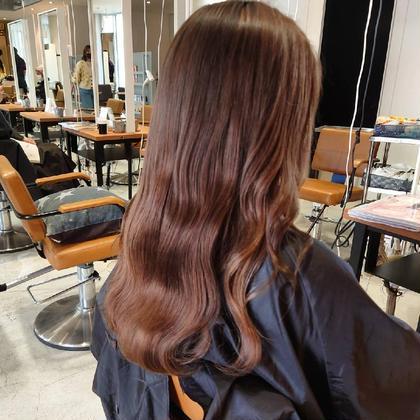 カット+カラー+✨超音波✨髪質改善トリートメント