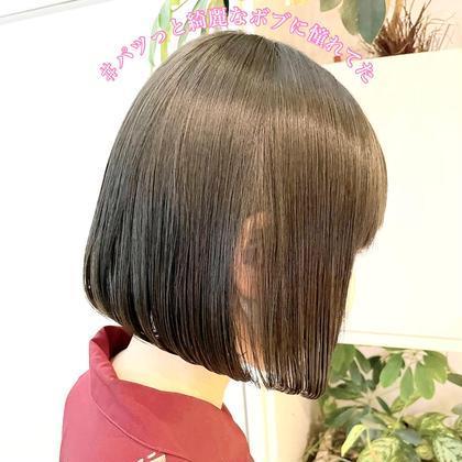 【梶谷考案】やっと私も綺麗に可愛くなれる🥺ブリーチ毛でもかけれる魔法のコスメストレートでサラ艶髪