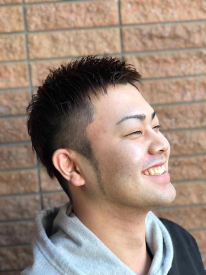 🌟男前カット+頭皮クレンジングコース~髪と頭皮をグッドに!