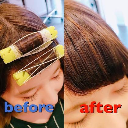 🌈ミニモ価格🌈✂️前髪カット+前髪パーマ✂️