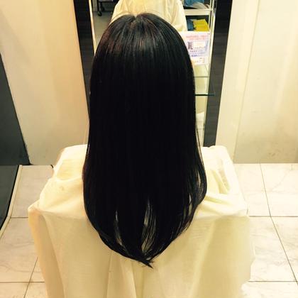 シャギーバックフォト! AUBE  hair  シュマン所属・久保ユウキのスタイル