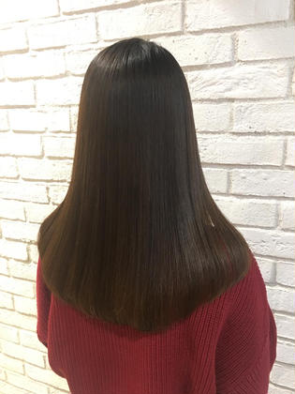 ‼️10月限定‼️カット×カラー×クイックトリートメント✨髪質改善サプリ使用