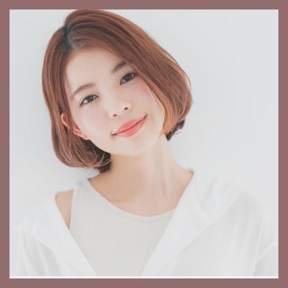 【梅雨に☔️】カット + 縮毛矯正 + アミノ酸Tr