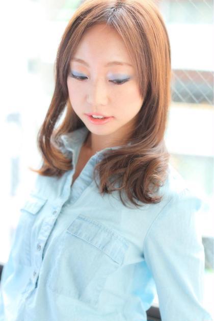 ブレラ   ヘアー  デザイン所属・細入武のスタイル