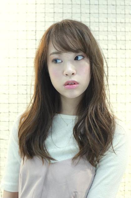 透明感カラー☆  アディクシーカラーで赤みを消したカラーリング STILL unlabel所属・STILL 西村真のスタイル