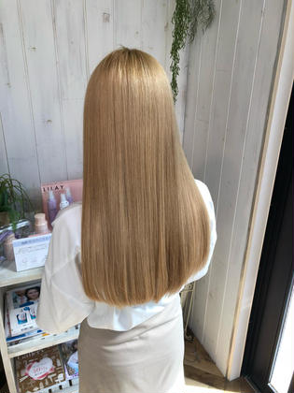 最高級髪質改善トリートメント🤩ストリートメント+グロスアップトリートメント!