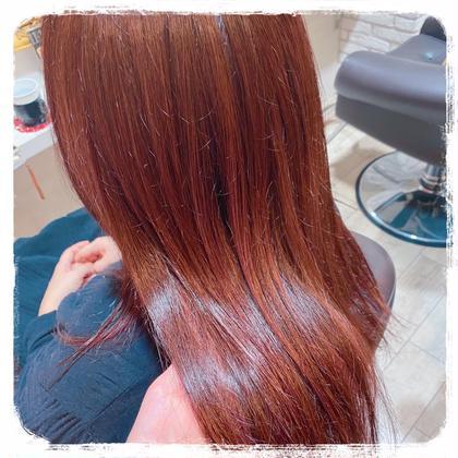 🐇【髪質改善カラー】カット+イルミナカラー+TOKIOトリートメント🐇