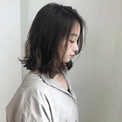 🌟小顔カット+マイクロバブル泉+オリジナルTr+極潤アウトバスTr