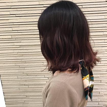 Uー24🌈カット&ダメージレスパーマ&補修トリートメント🌈【土日プラス1100円】