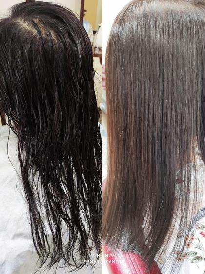 🍎🍏【高発色、低ダメージ】似合わせカット+N.カラー🍏🍎