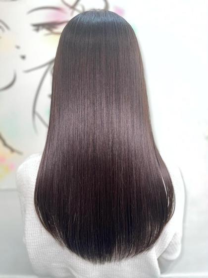 🥇究極の髪質改善🥇🌈ノンダメージ縮毛矯正+最高級テラヘルツトリートメント+カット🌈
