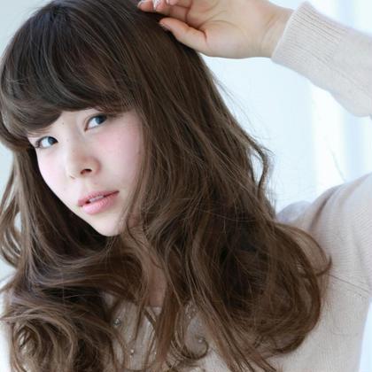 重めの前髪を流しやすいようにパーマ当てました! MODE K's 長岡京店所属・小路葵のスタイル