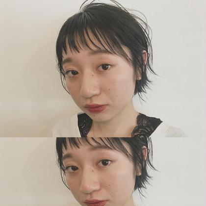 《頭皮スッキリ♡》前髪カット&throwカラー(又は白髪染め) & アロマヘッドスパ