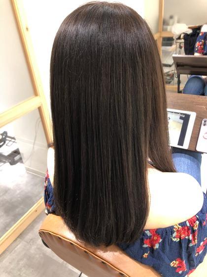 🎟縮毛矯正+トリートメント