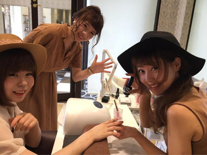いつも明るい女性達 hair&make earth甲府昭和所属・米倉群のスタイル