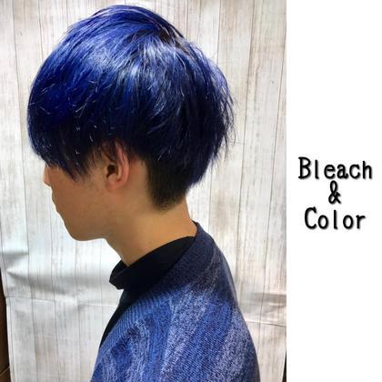 Menu Cut ¥1000 Bleach ¥3000 Color  ¥3000  Styling ARIMINO HARD BALM ¥2400 Chill所属・たごあつしのスタイル