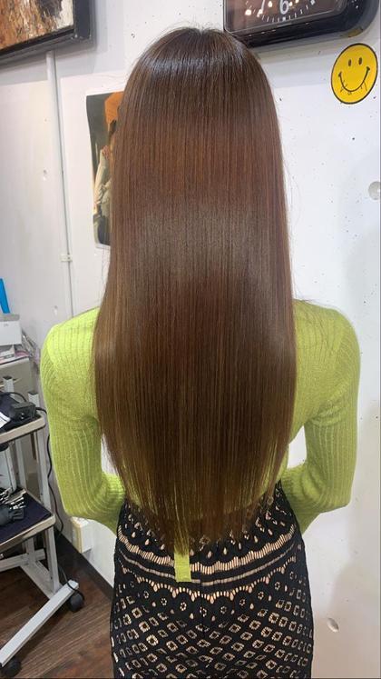 必ず艶髪に✨透明感カラー+話題の高濃度水素トリートメント