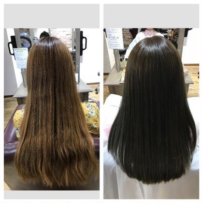 カット & 髪質改善カラー & トリートメント