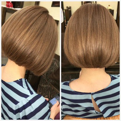 一回ブリーチをして プラチナベージュ✨  ダブルカラー料金になります! hair   LORAN所属・hairLORANのスタイル