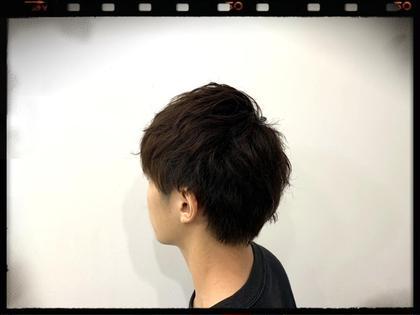 ✨モテる男へステップアップ⤴️✨モテ髪メンズオシャレカット+男をあげる似合わせカラー👍+ダメージを抑えるトリートメント