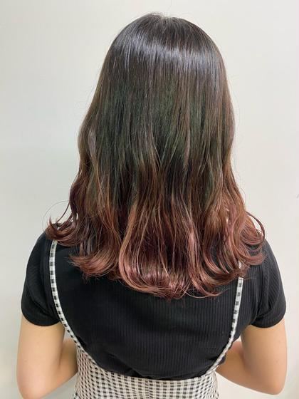 🌎✨【個性で可愛く】✨🌎グラデーションorインナーカラー+髪質改善トリートメント✨✨