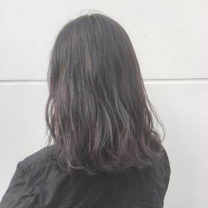 ブリーチなしのオリーブグレージュ^ ^ 透明感抜群イルミナカラー⭐️ angelgaff所属・山本悠斗のスタイル
