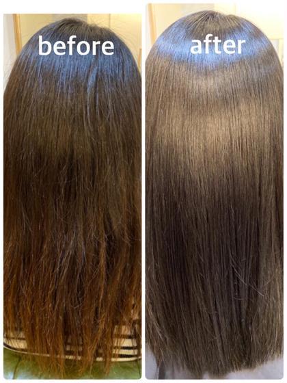 【美髪チャージ】TV、SNSで話題の最新髪質改善水素トリートメント+イルミナカラー+似合わせカット✨