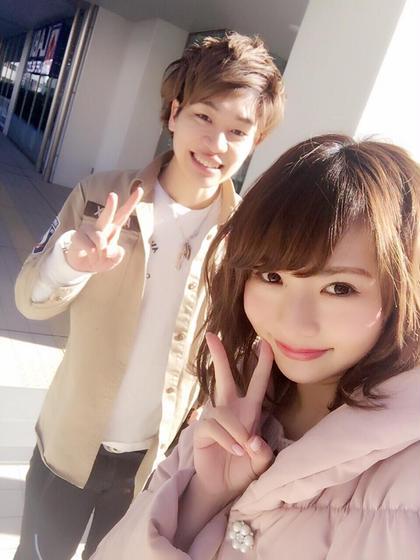 カラー パーマ ミディアム モデルのマッコリさん4回目のご来店★  雑誌、TVなどで幅広く活動されています!  立川で1番可愛いを作ります!!