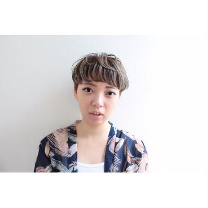 マッシュ×カール仕上げ Lycka上飯田所属・内田千晶のスタイル