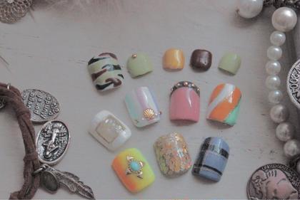 フットネイルサンプル nail所属・atelier-02のフォト
