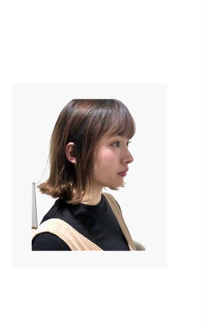 扱いやすい髪へ✨前髪ストレート&トリートメント