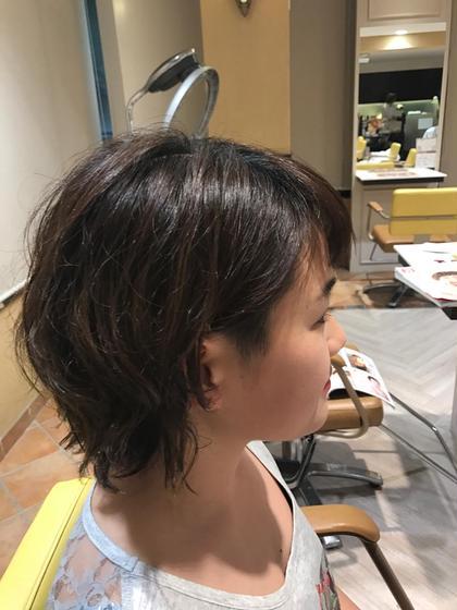 ショート×パーマ  BRONWnakano所属・上野香菜子のスタイル