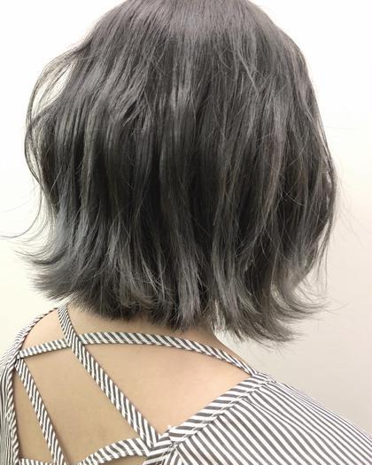 透明感◎グレーシルバー☆彡.。 ブレス今里店所属・弓木啓輔のスタイル