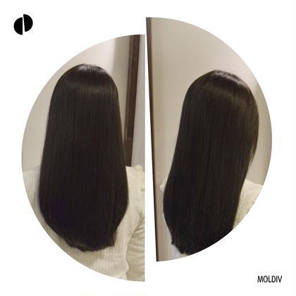 【Aujua】ストレートパーマ【期間限定特典】前髪縮毛矯正+前髪カットもしくは全体カット+オージュアフルトリートメント