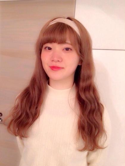ゆるウェーブ♡ cut&perm AUBETOKYO所属・AMIのスタイル