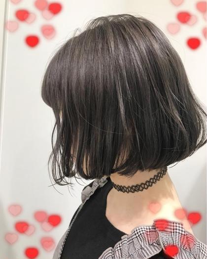 グレーパール✨♡ 関口三都季のヘアカラーカタログ