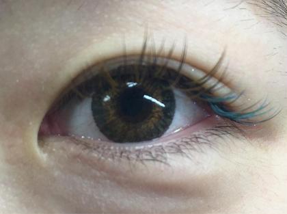 ブラウン×ターコイズ AINA eyelash所属・木村のフォト