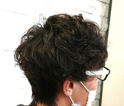 【✨流行りのメンズスパイラル✨】カット&コスメパーマ&トリートメント