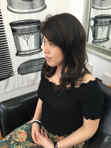 外国人風ダークアッシュカラー BeautyStudio CRAFT 目白店所属・阿部圭一郎のスタイル