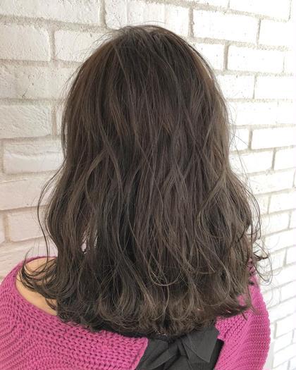 ✨前髪カット & オーガニックカラー&うる艶グロストリートメント