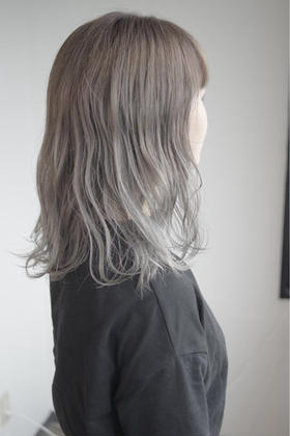 カラー セミロング