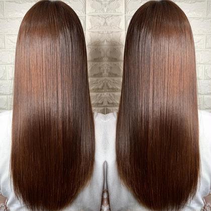【✨本気で髪の毛を綺麗にしたい人はこれ✨】サイエンスアクア+艶の出るカット+イルミナカラー+Aujua