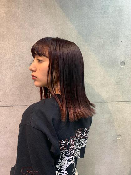 髪質改善トリートメント➕カラー➕カット➕4stepトリートメント