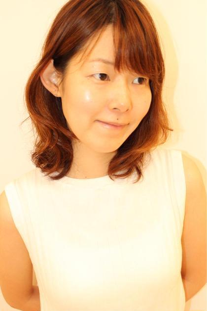 ひし形シルエットパーマスタイル you&i hair design所属・高山雄太のスタイル