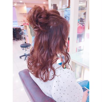H.tomoのヘアアレンジ